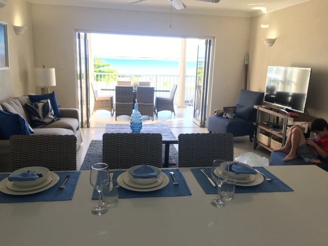 Lighthouse Bay Living, Dining and Patio